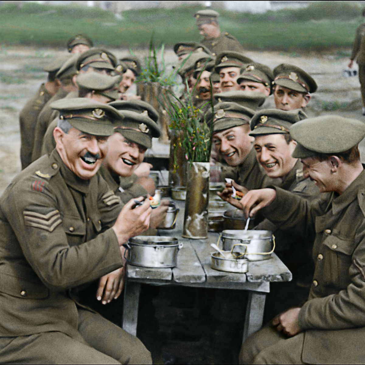 Scene from They Shall Not Grow Old