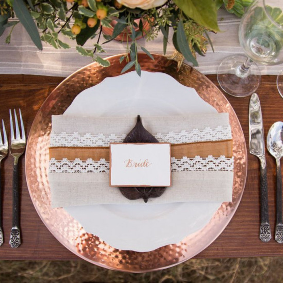 2019 wedding trends copper