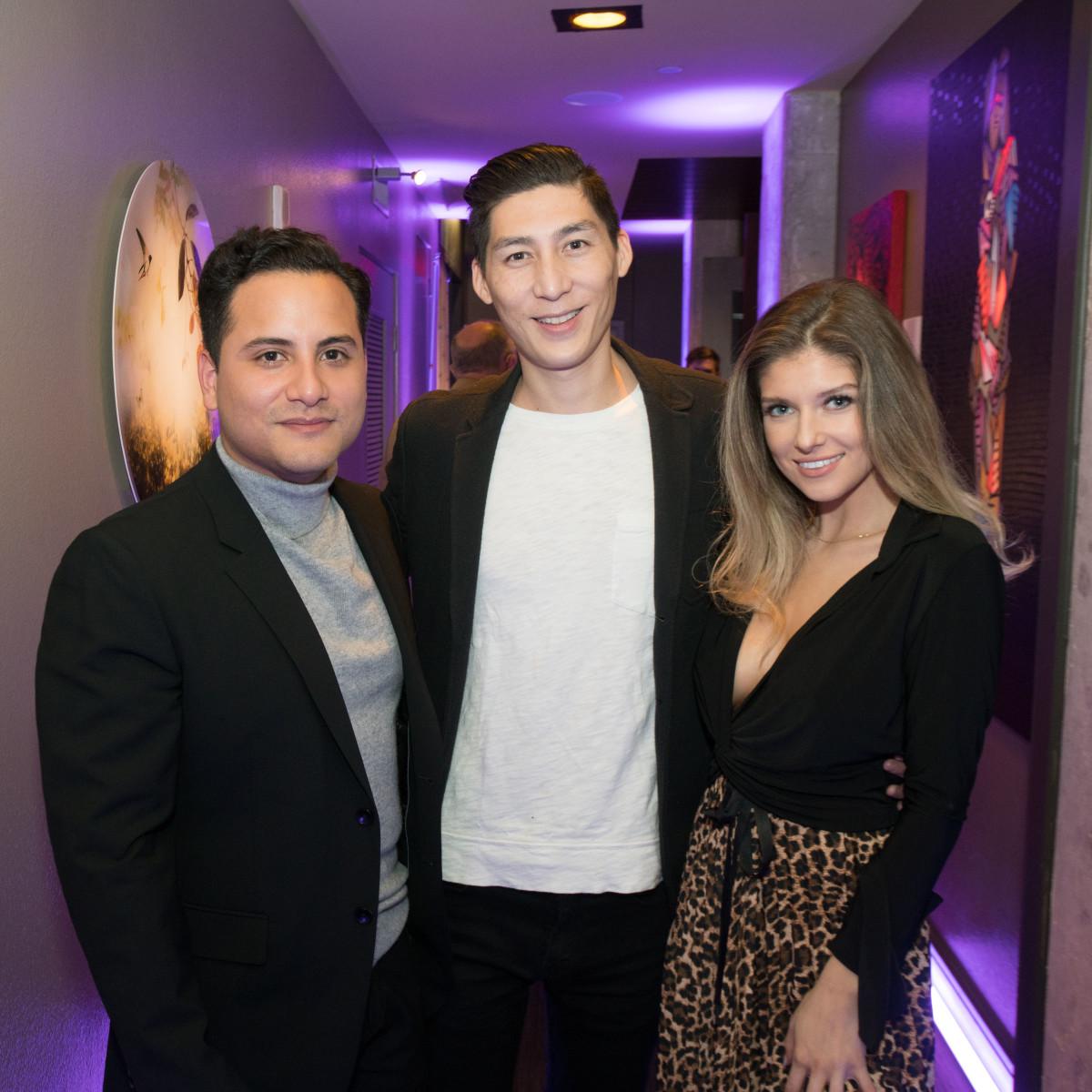 Raul Sanchez, Brandon Chin, Victoria Lynn Morin
