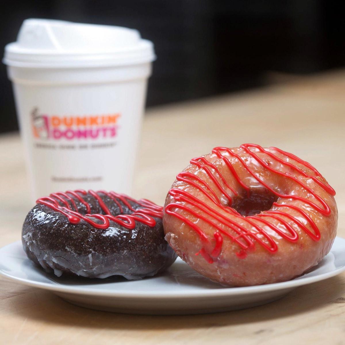 Dunkin' Donuts, doughnuts, coffee
