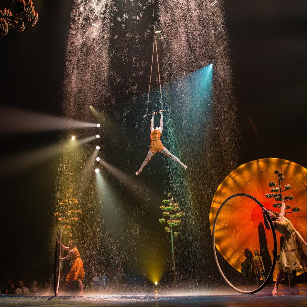 Cirque du Soleil: Luzia, Trapeze