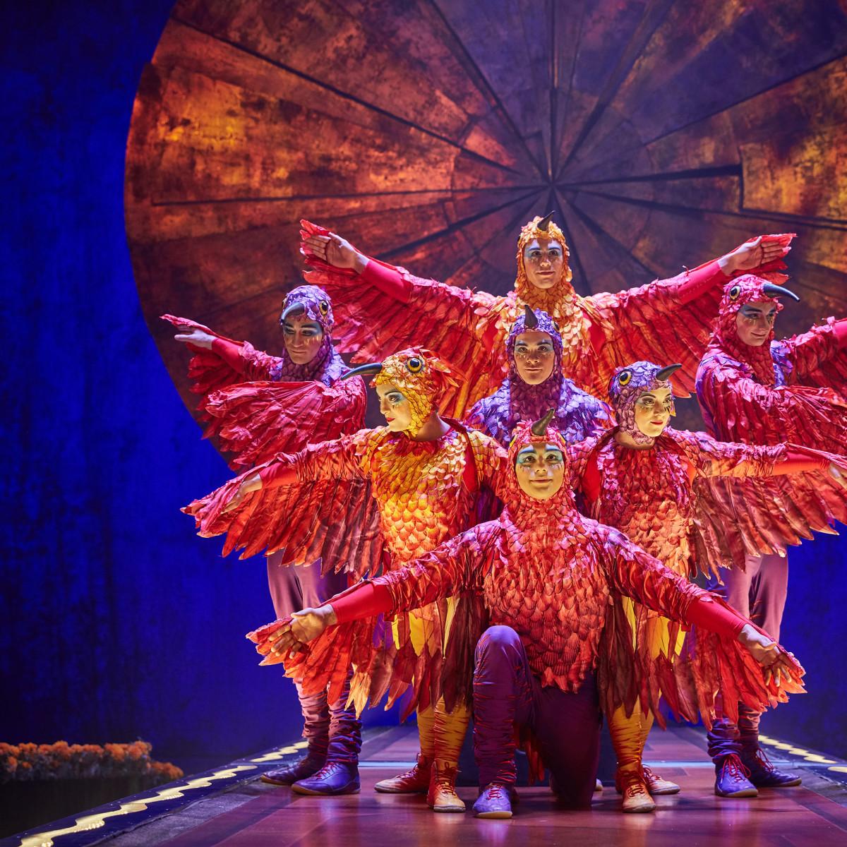Cirque du Soleil: Luzia, Hoop Diving
