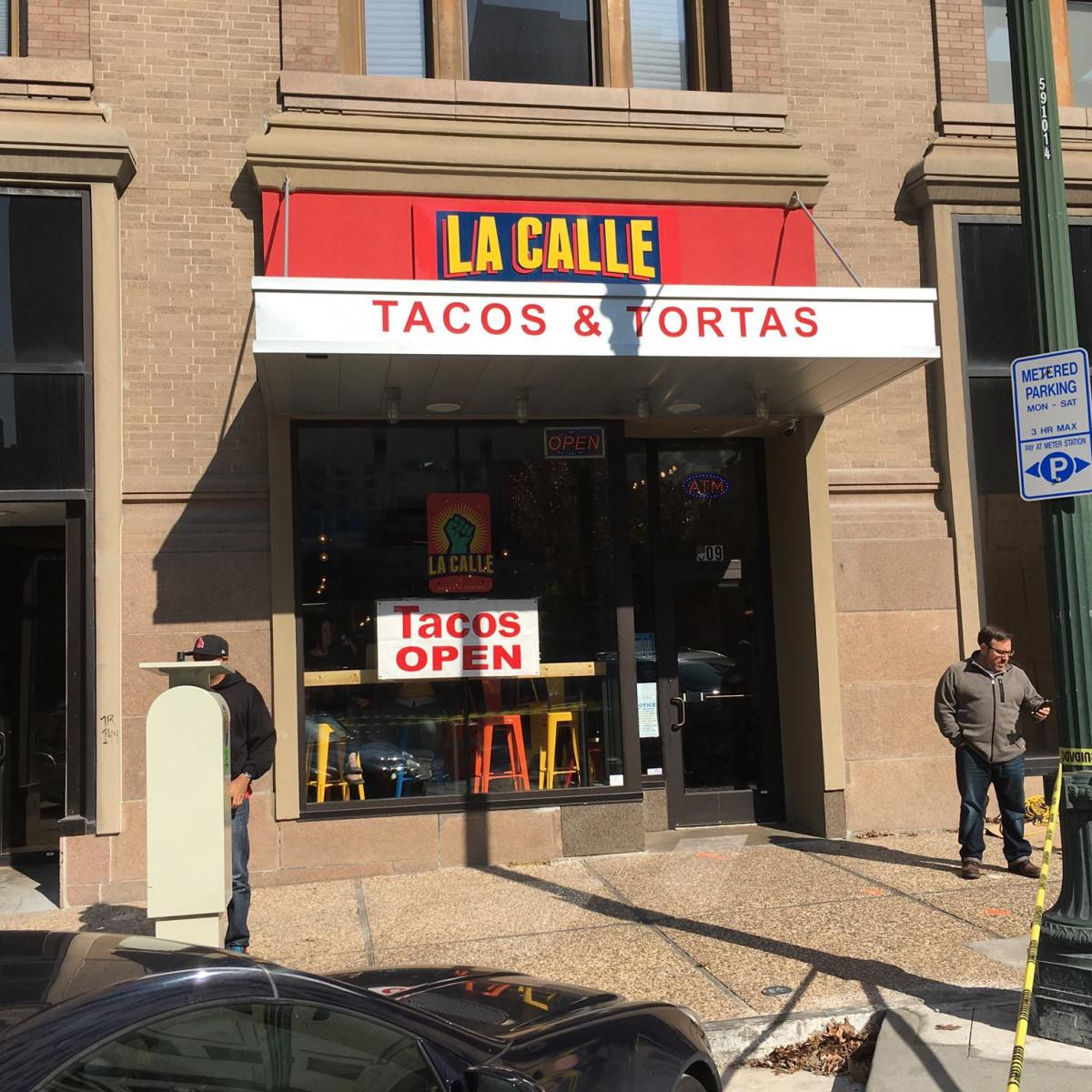 La Calle Tacos exterior