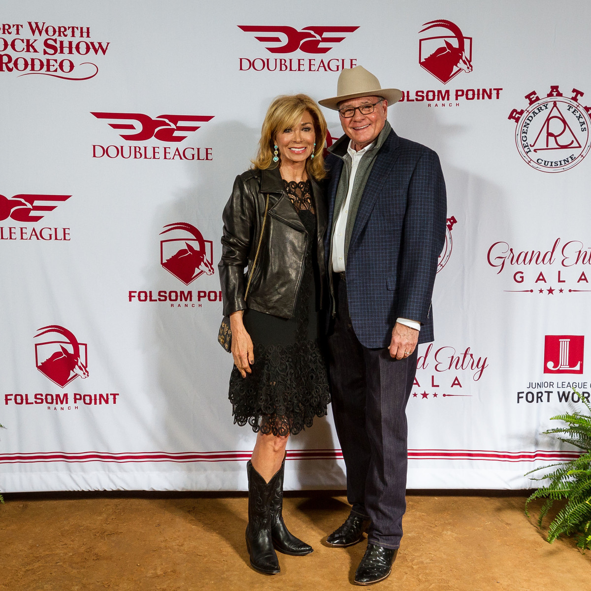 Fort Worth Stock Show Grand Entry Gala Olivia Kearney and Jeff Kearney