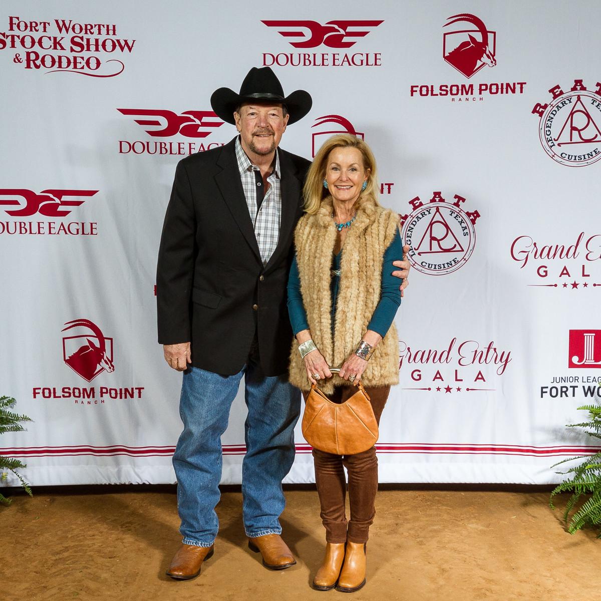 Fort Worth Stock Show Grand Entry Gala Bill Landreth, Gail Landreth