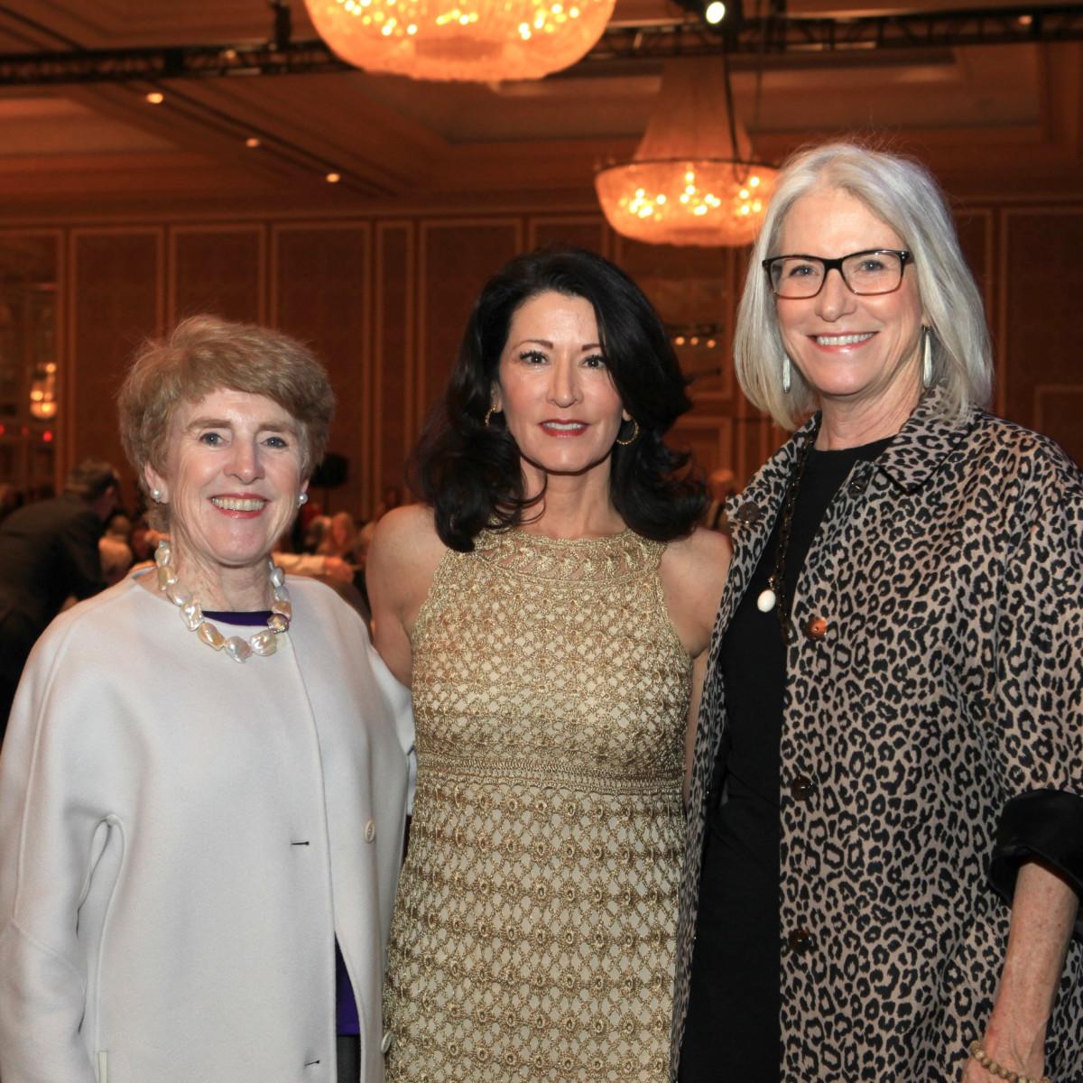 Lucy Billingley, Regina Calcaterra, Linda Owen Barnes