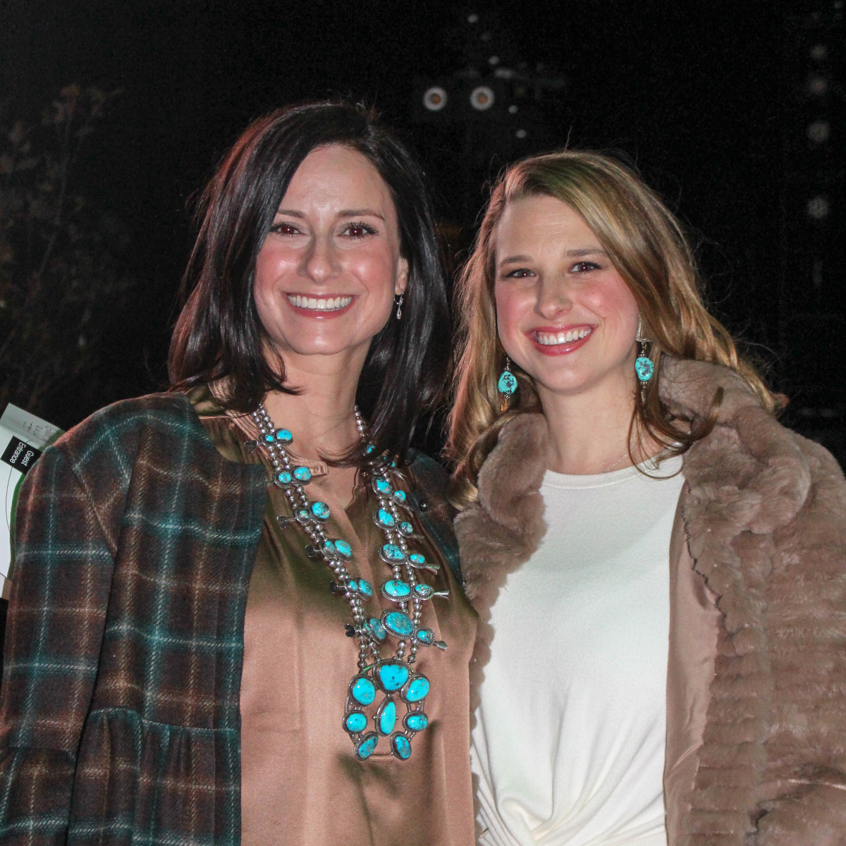 Fort Worth Stock Show Grand Entry Gala Mary Lou Hilliard and Caroline Crawford