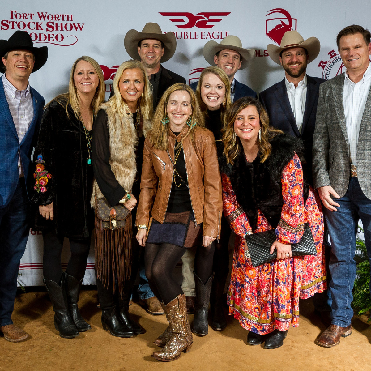 Fort Worth Stock Show Grand Entry Gala 2019 group photo