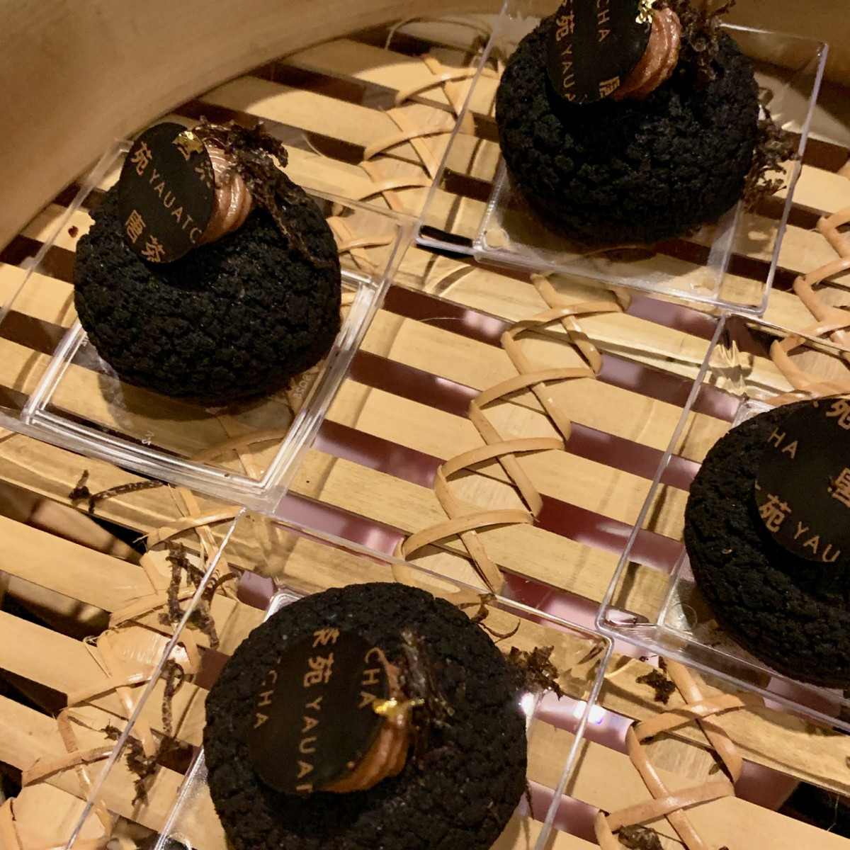 The Truffle Masters 2019 Yauatcha chocolate choux