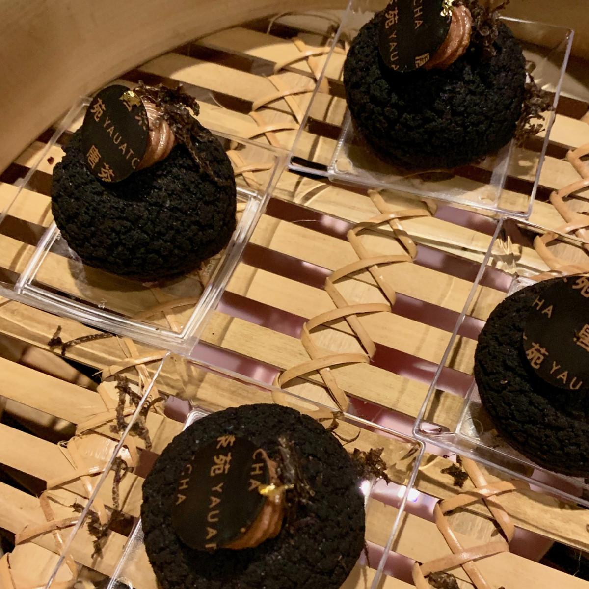 The Truffle Masters 2019 Yauatcha chocolate choux