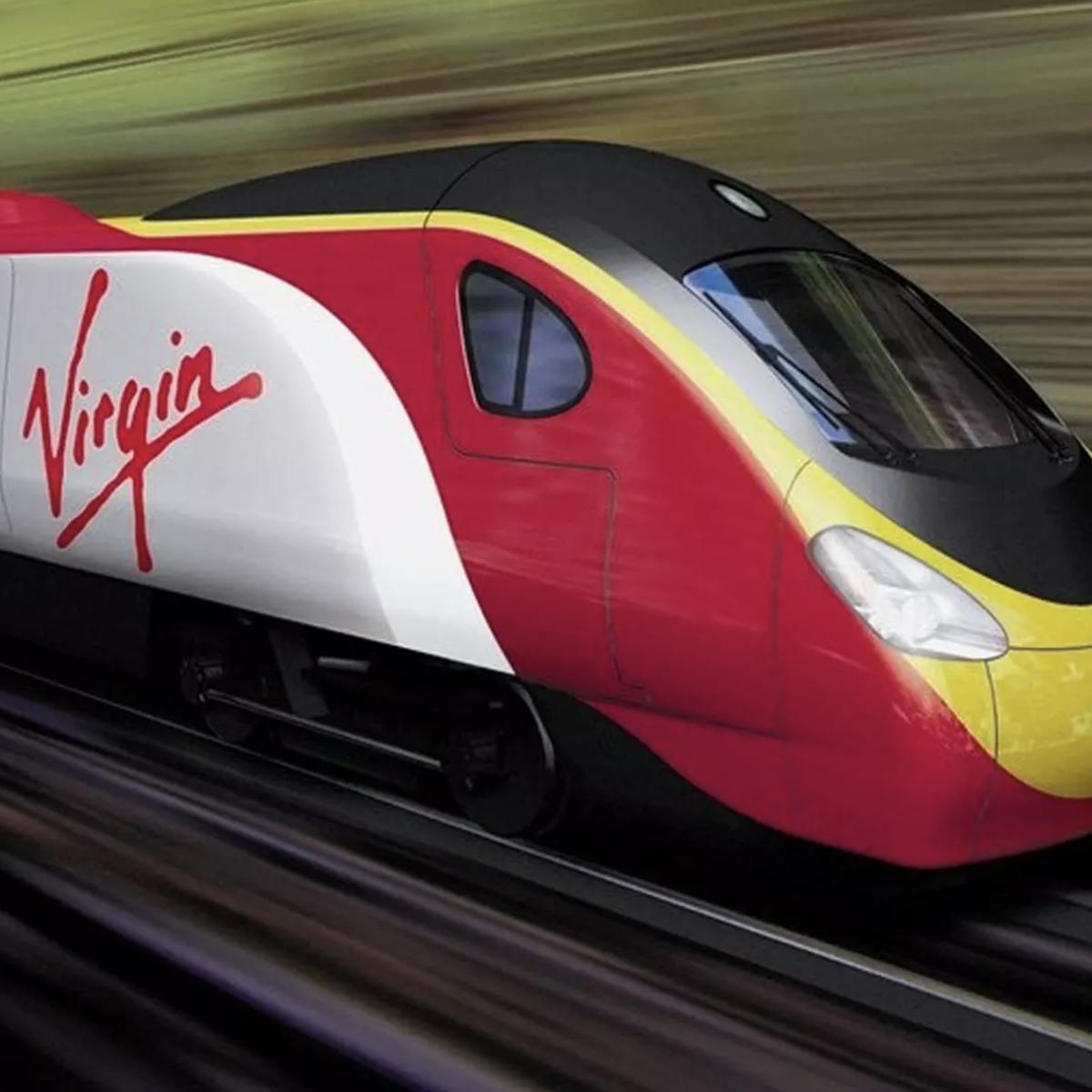 Virgin USA Train