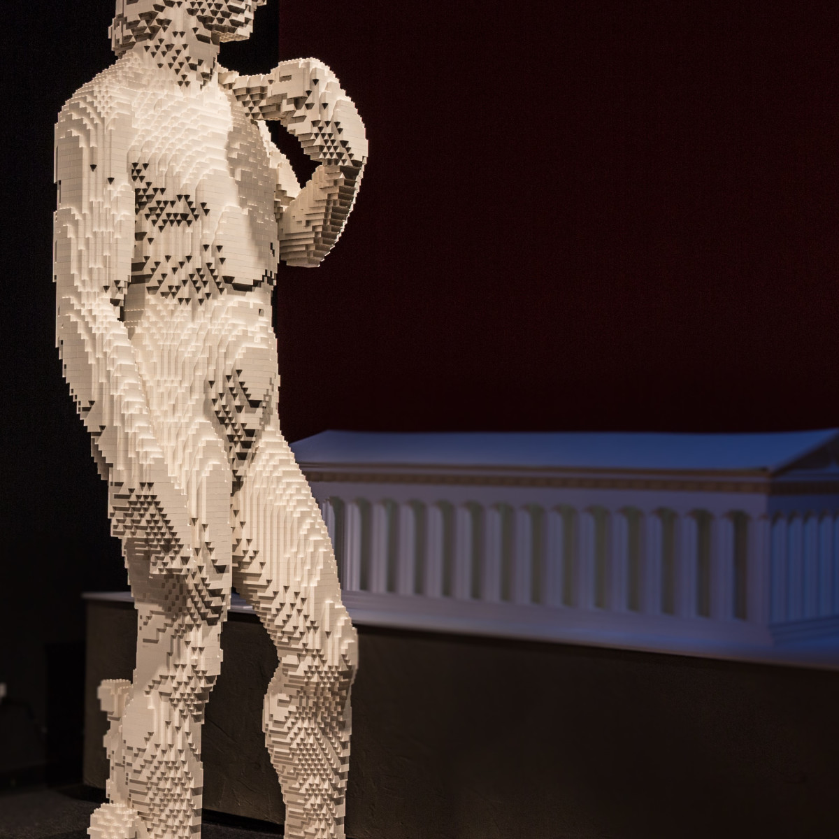 Perot Museum Art of the Brick, David