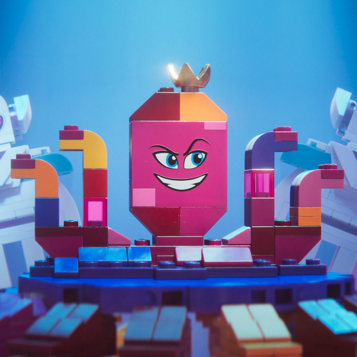 Queen Watevra Wa'Nabi (Tiffany Haddish) in The LEGO Movie 2: The Second Part.