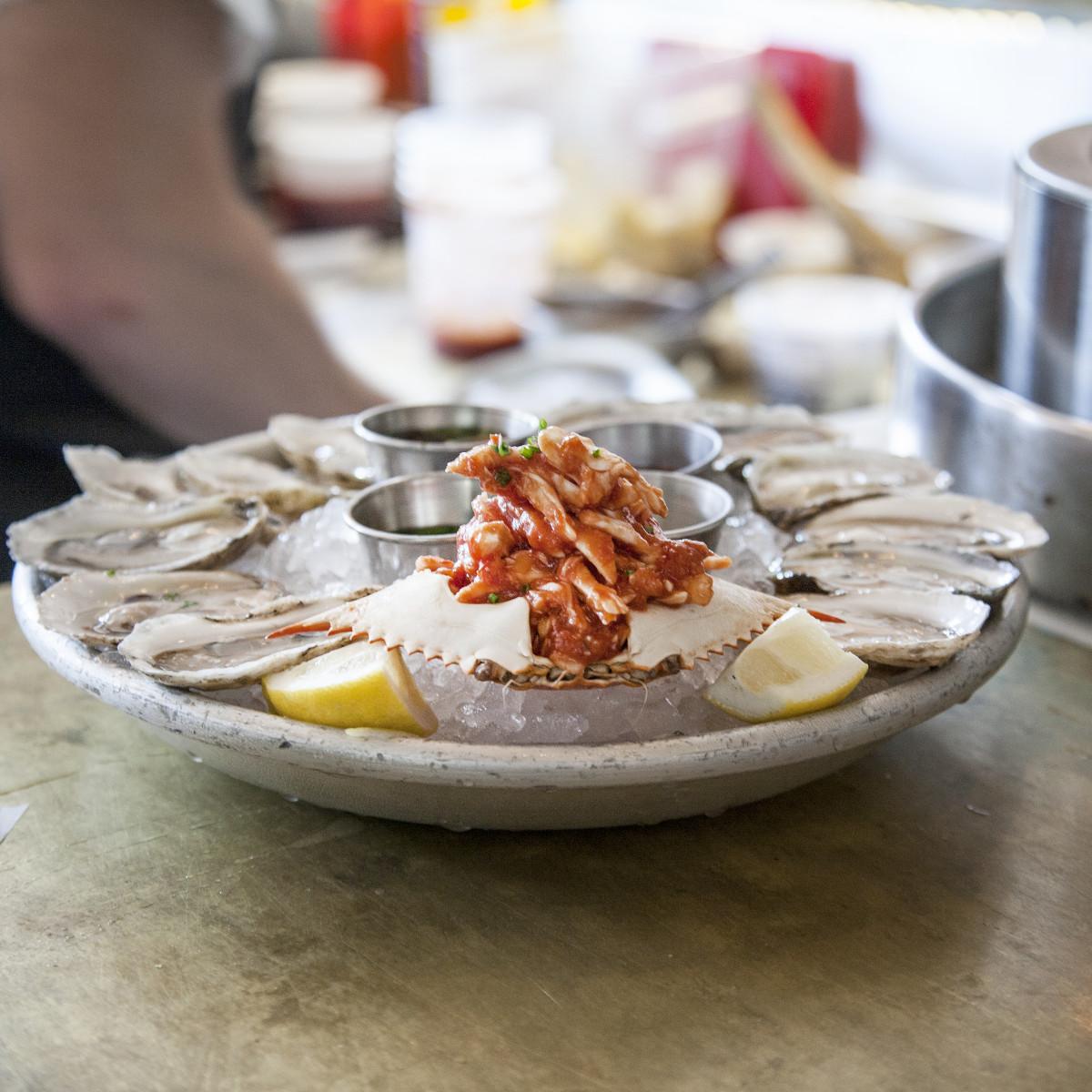 La Lucha oysters