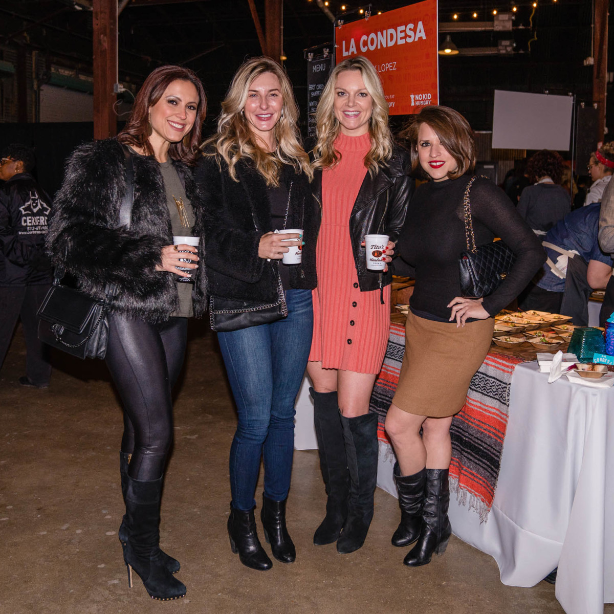 Taste the Nation No Kid Hungry at Fair Market Serena Garza Kristin Shilson Jen Mulhern Kathleen Galvan