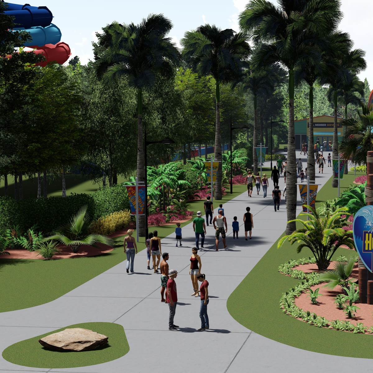 Six Flags Hurricane Harbor SplashTown