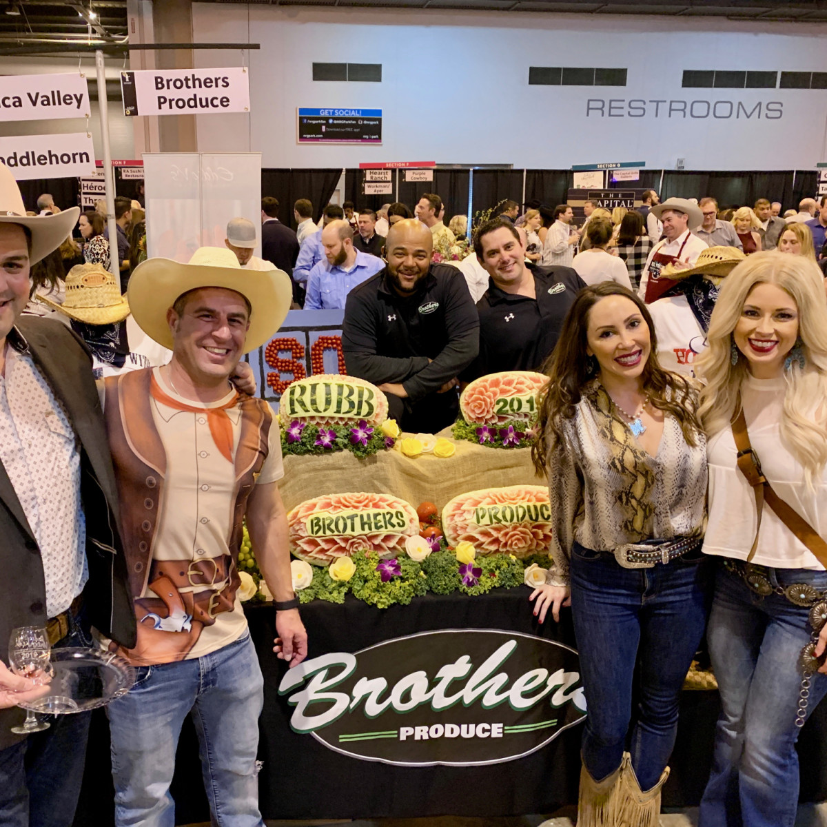 Rodeo Best Bites 2019 Brothers Produce