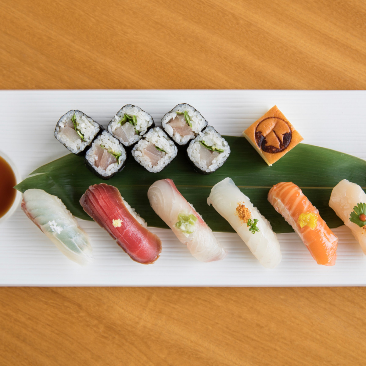 Nobu Houston sushi and nigiri combo