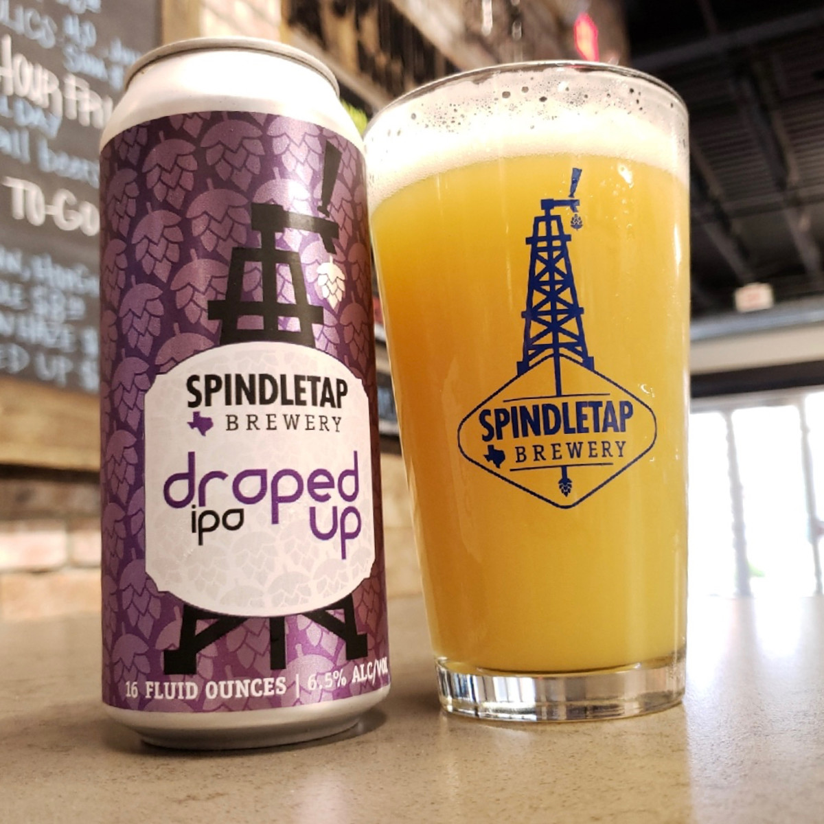 Spindletap Brewing Draped Up