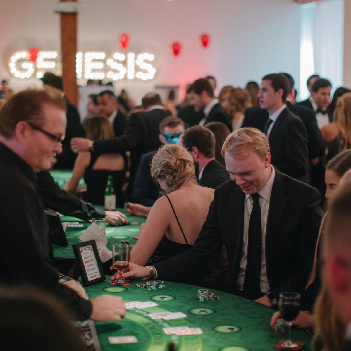 Genesis Masquerade 2019, casino game