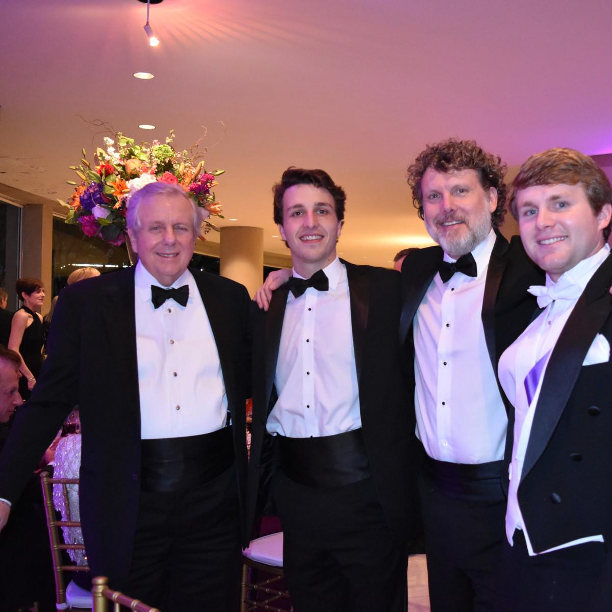 Michael McCullough Sr., Cy McCullough, Michael McCullough Jr., Mac McCullough