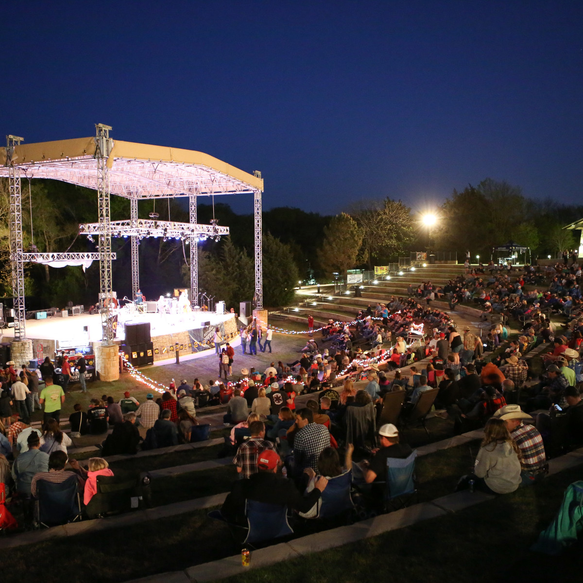 Toyota Texas Music Revolution at Oak Point Park in Plano