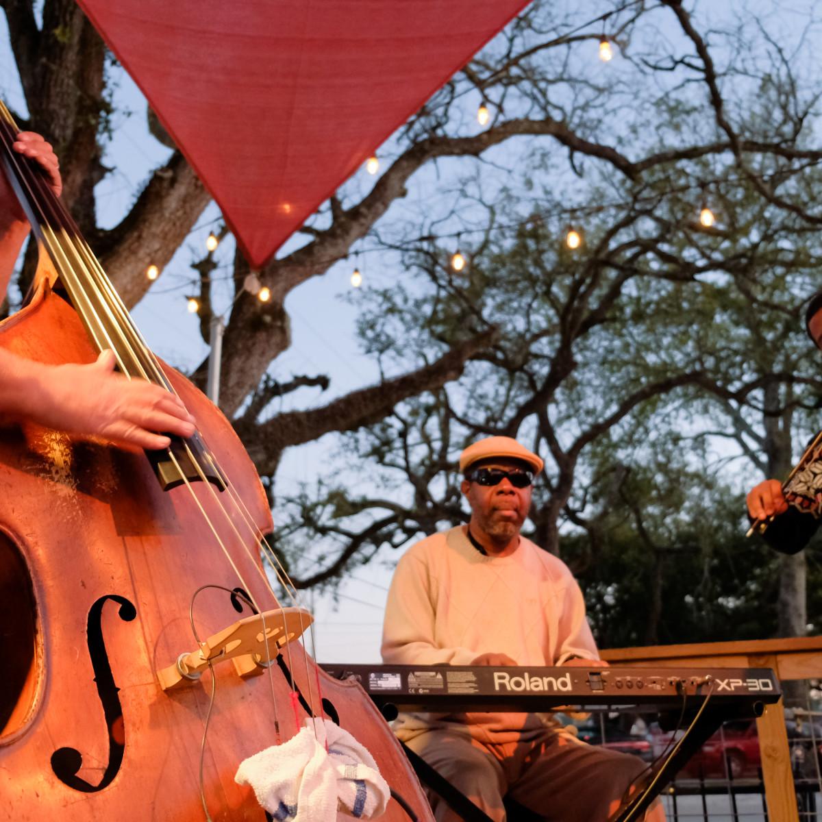 Rikenjaks musicians in Lake Charles, Louisiana