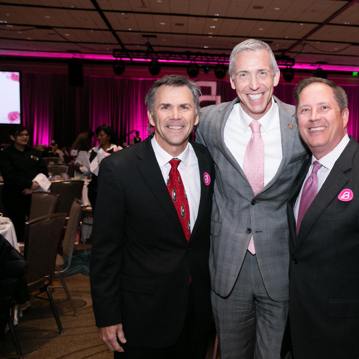 Dr. Mark Godat, Ken Lambrecht, Dr. Darrel Jordan