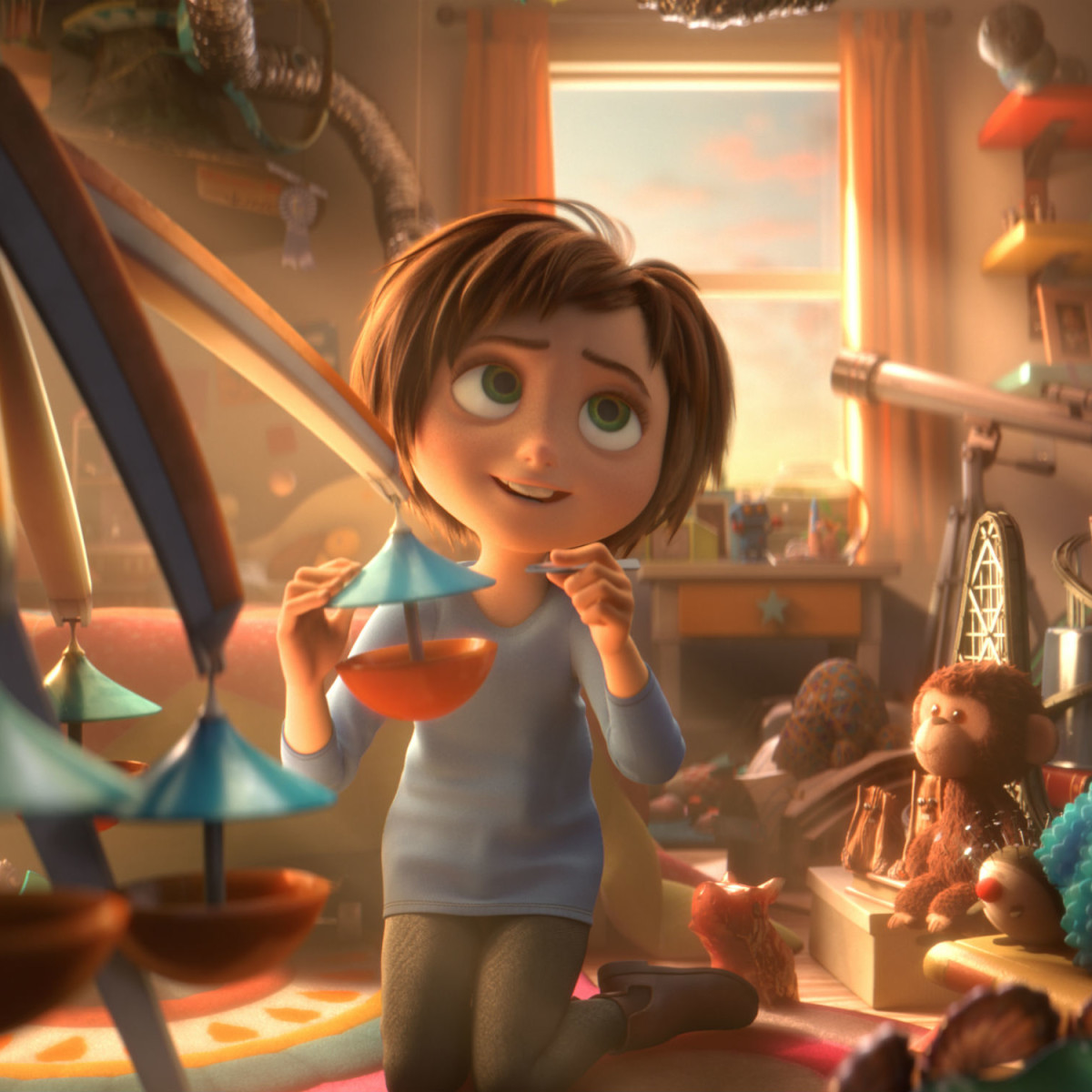 June (Brianna Denski) in Wonder Park