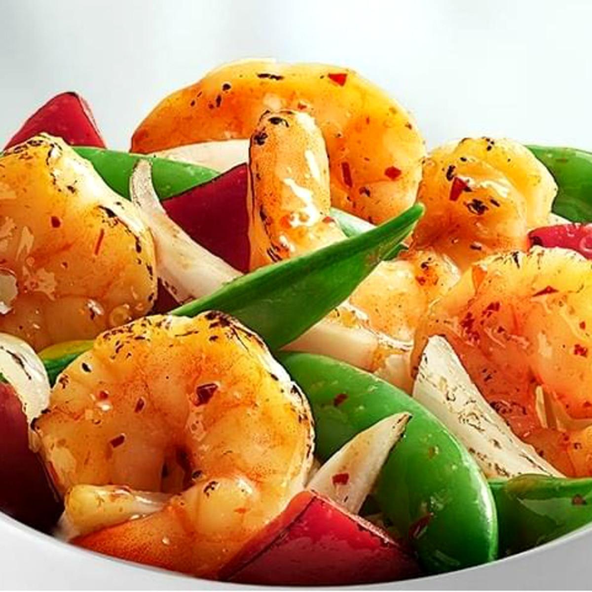 Drive-Thru Gourmet - Panda Express wok fired shrimp