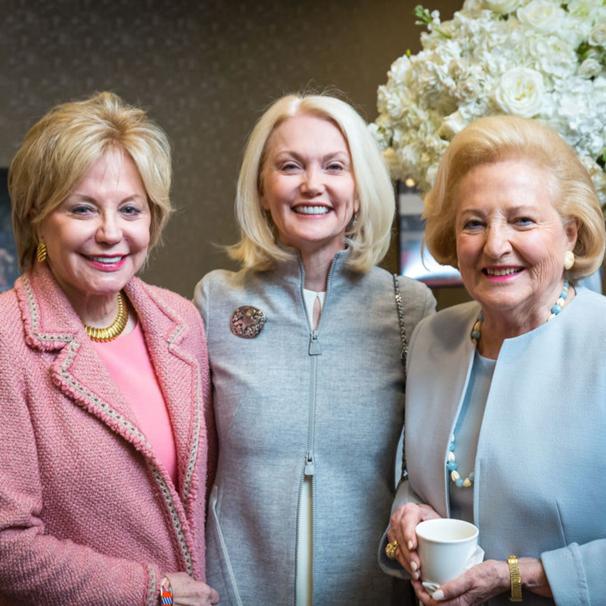 Nelda Cain Pickens, Nancy Cain Marcus, Margot Perot