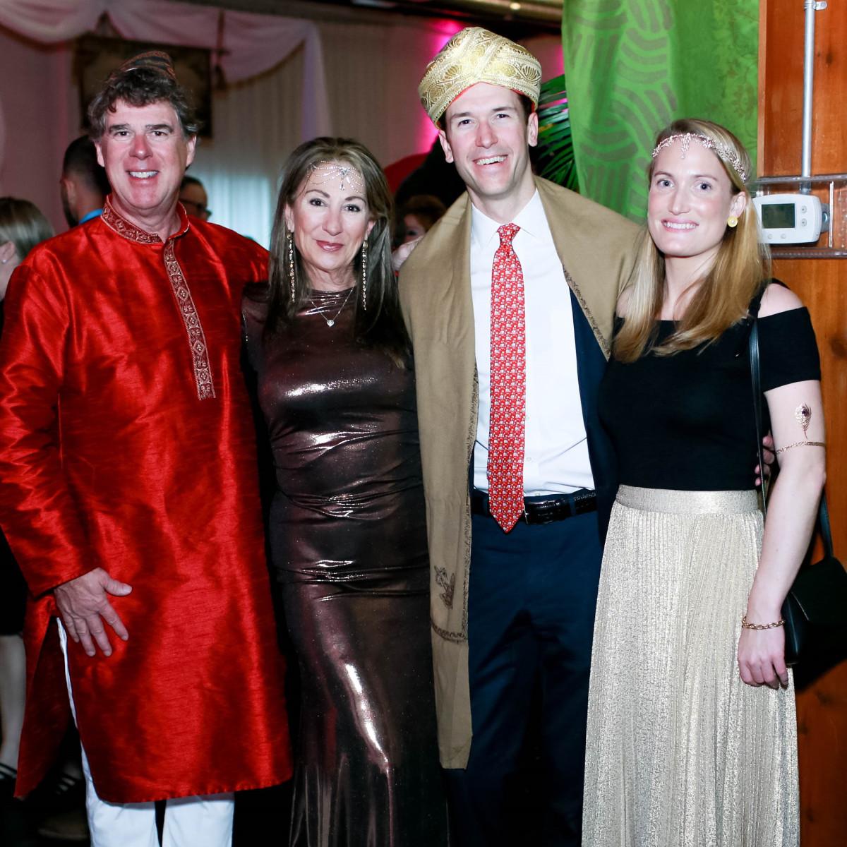 Eric andFaith Smith, Connor Hustava and Sarah Blagden