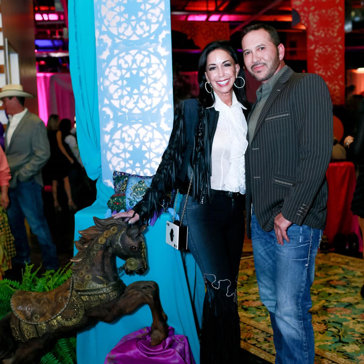 Jocelyn White and Casey Gutierrez