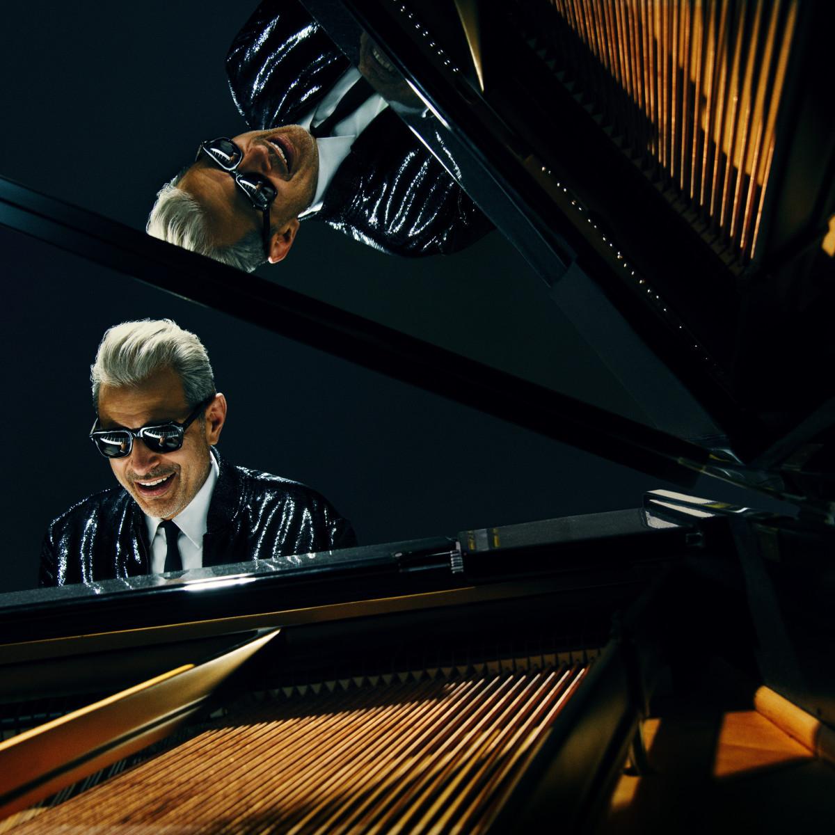Jeff Goldblum piano