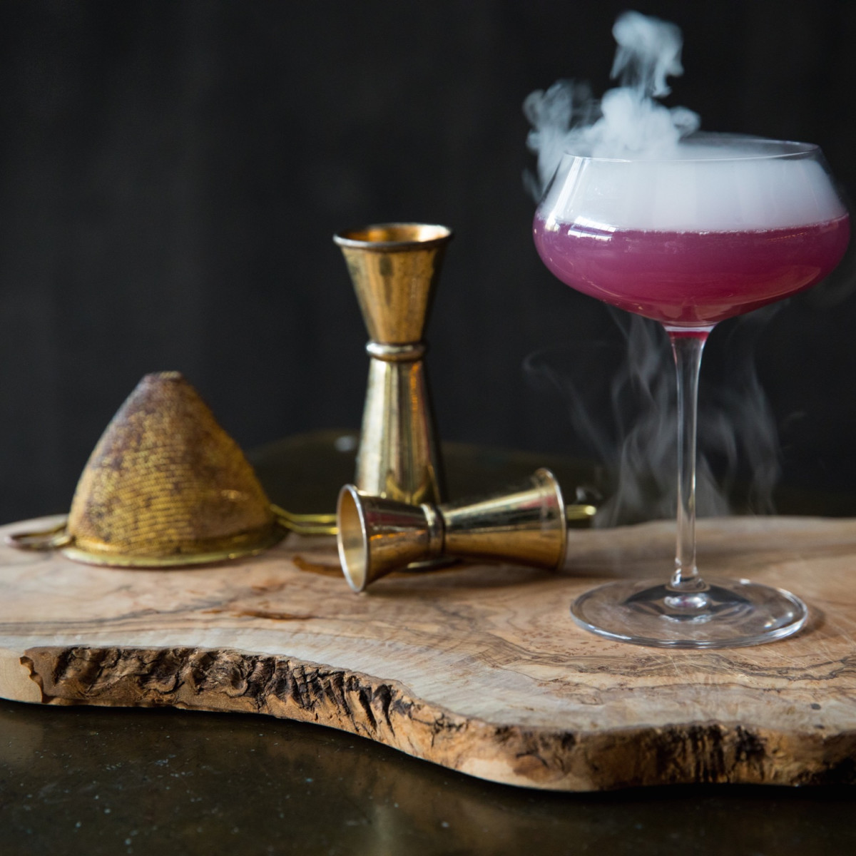 1751 Sea and Bar storm's end cocktail