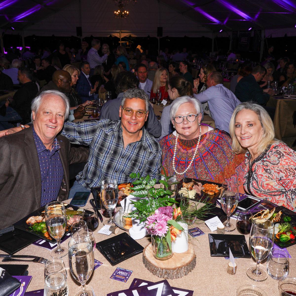 Dr. Mark Montgomery, Mark Culmo, Carol Montgomery, Cynthia Culmo