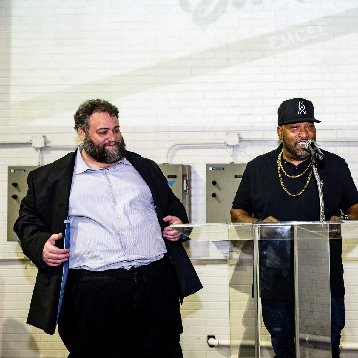 Tastemaker Awards 2019 Eric Sandler and Bun B
