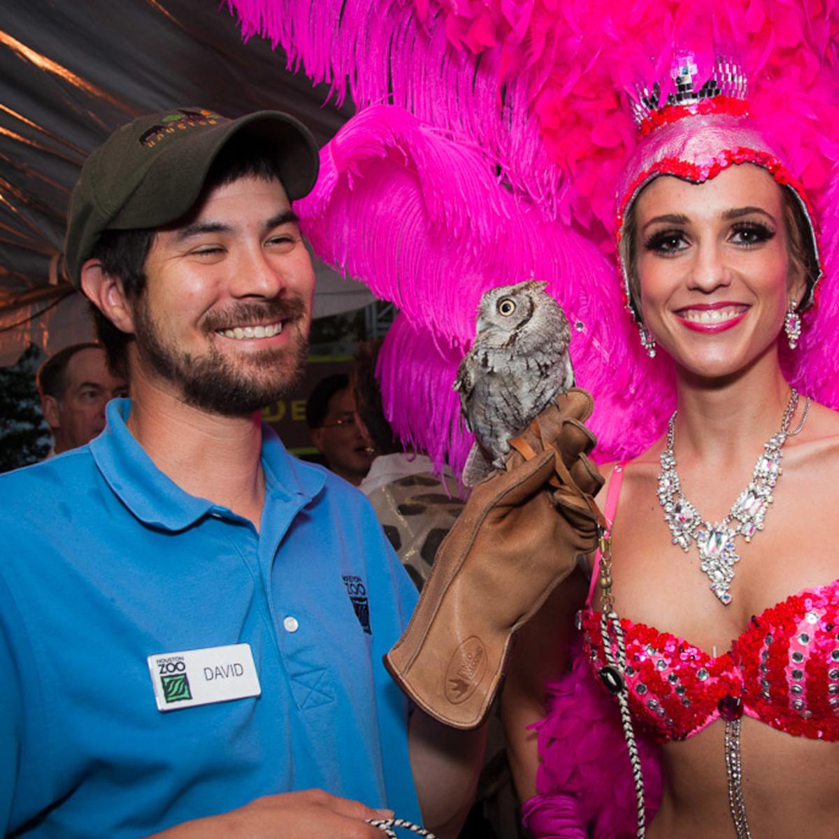 News_Houston Zoo Ball_April 2012_Screech Owl_Showgirl