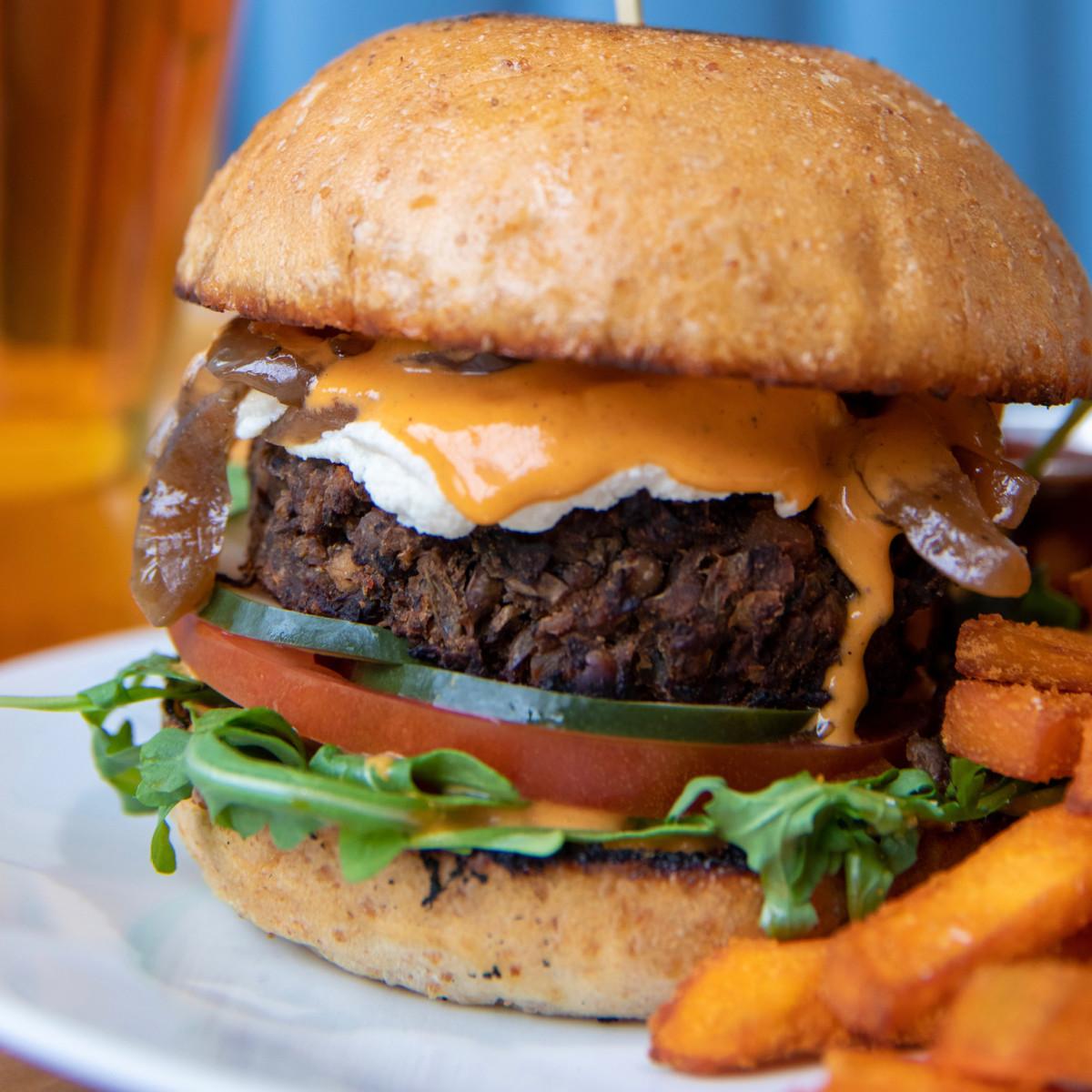 Verdine Waterworks cheeseburger