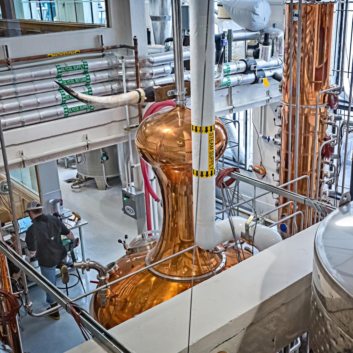 Maverick Whiskey San Antonio distillery
