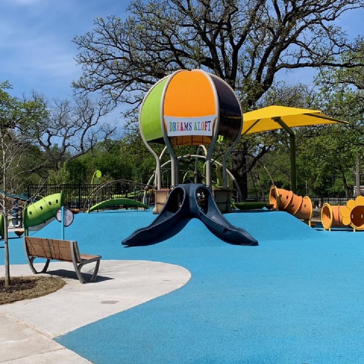 Dream Park all-abilities playground, Fort Worth