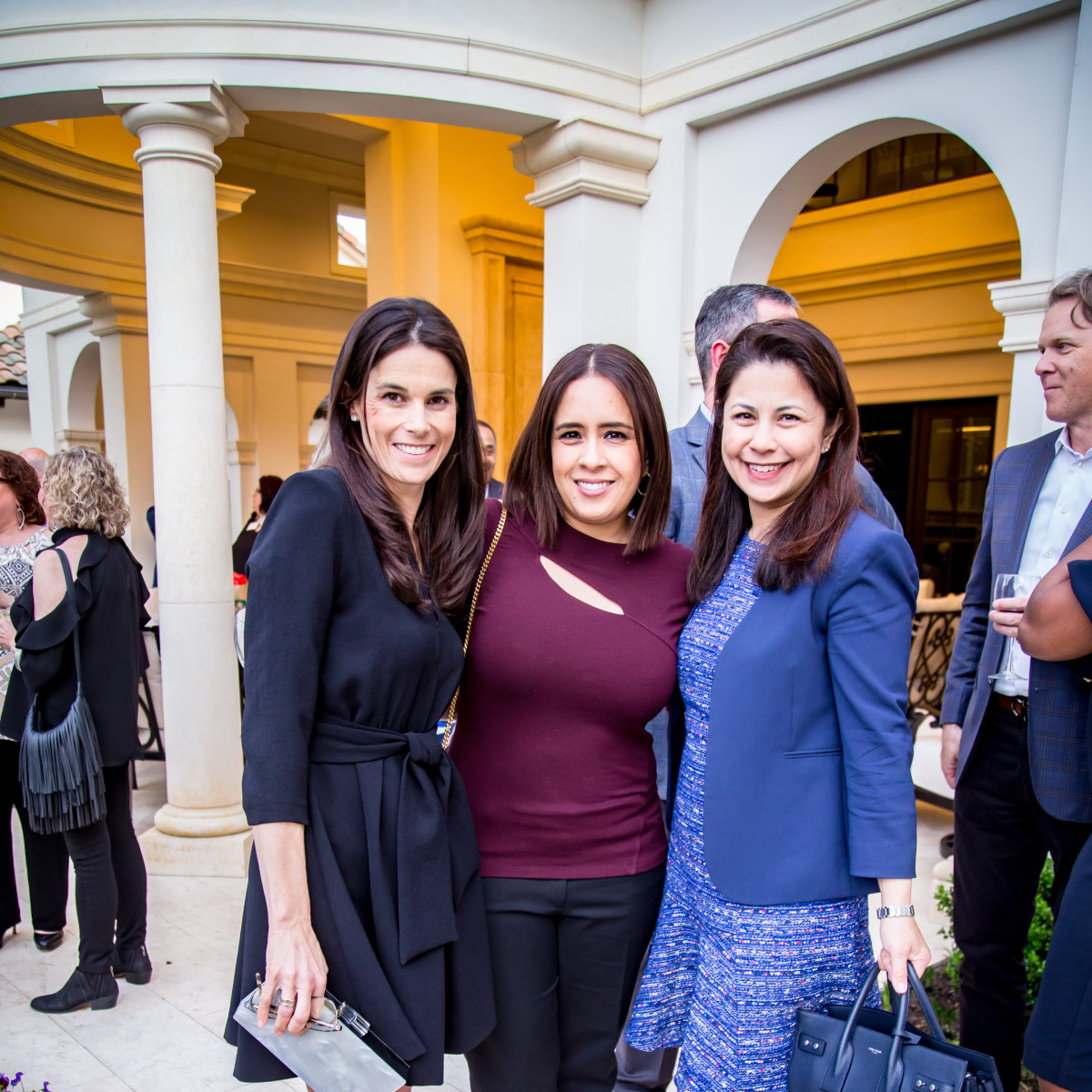 Melanie Jabbour, Julie Clark, Charmaine Tang
