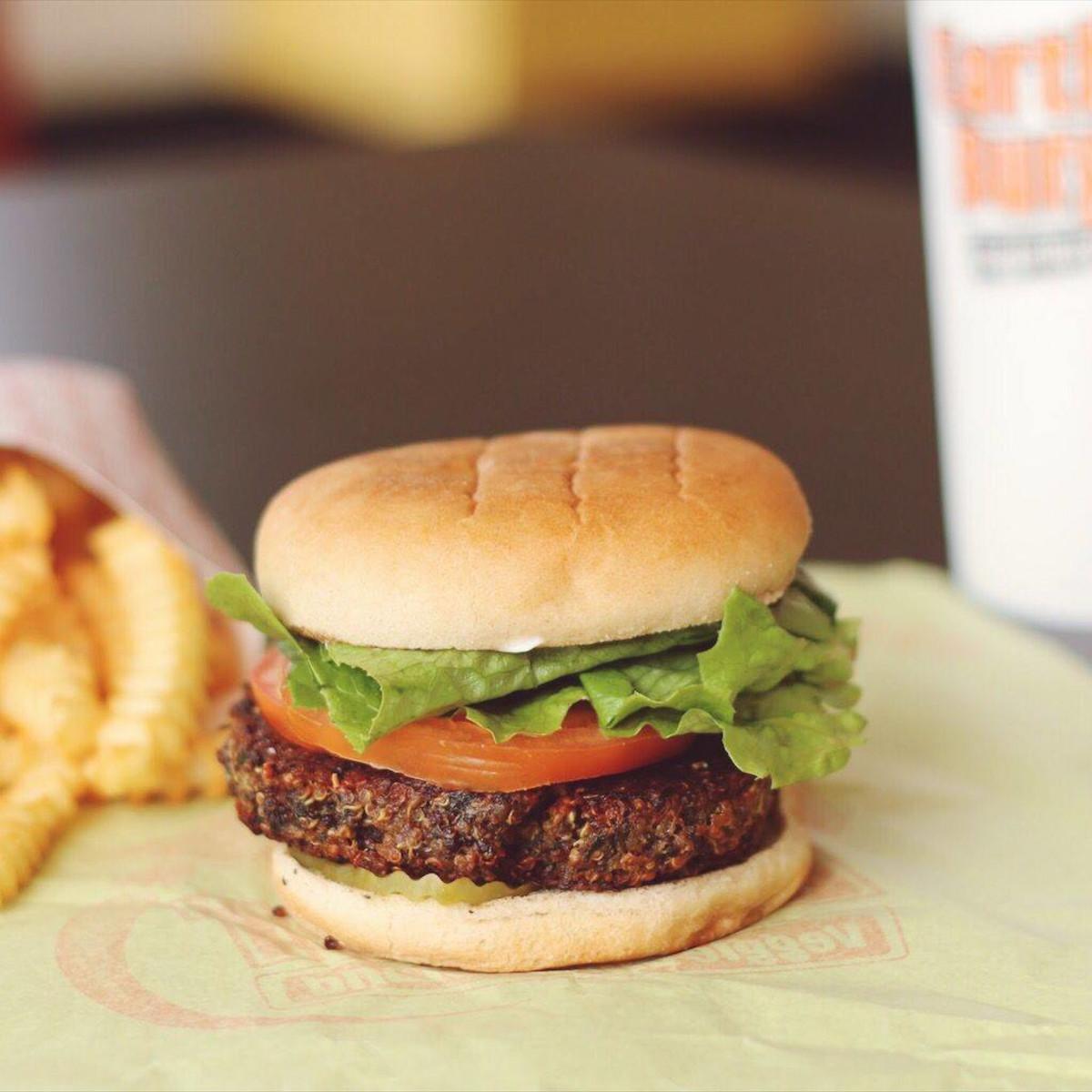 Earth Burger veggie San Antonio