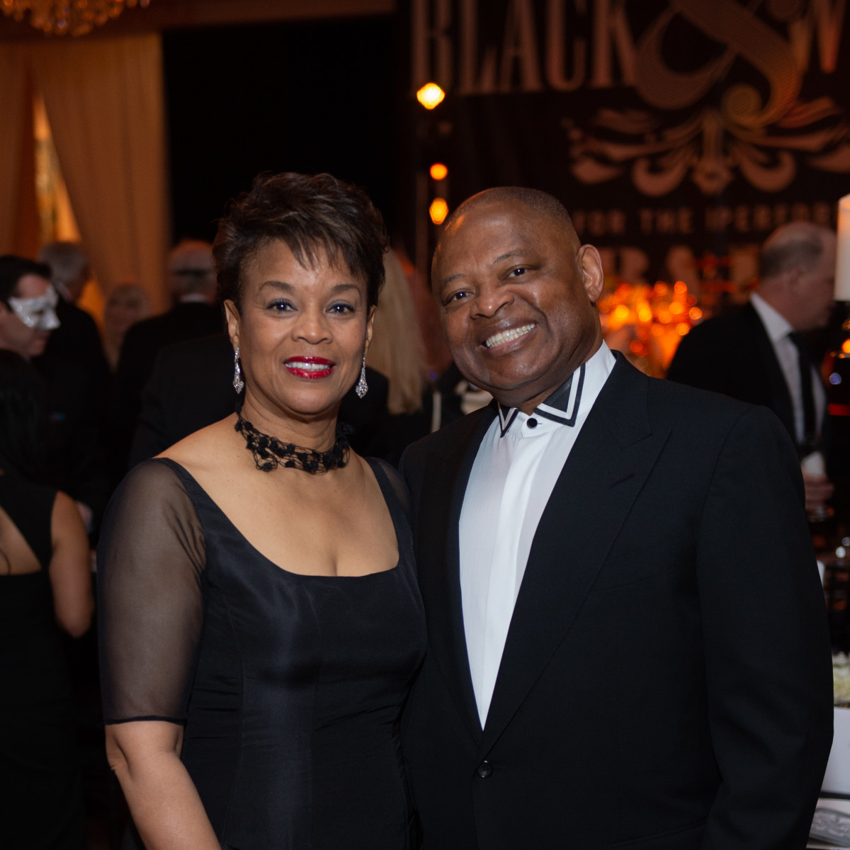 Society for Performing Arts Black and White Ball 2019