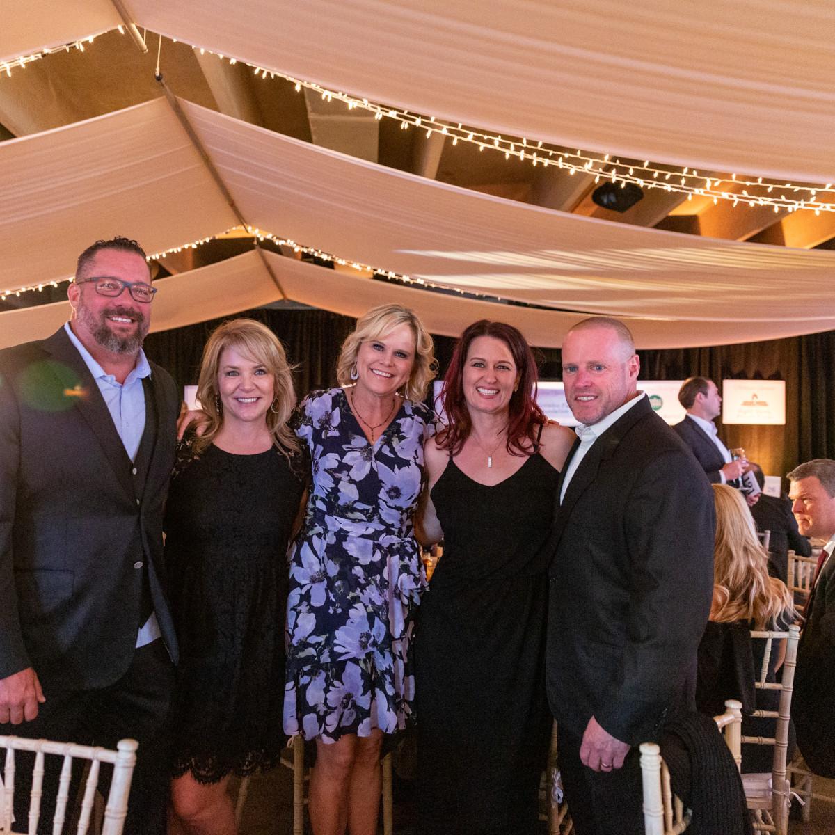 Doug & Katie Young, COVER 3, Kori Gough, Executive Director PFC, Kathy & Matt Dodson,