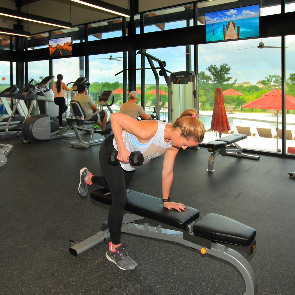 Whisper Valley fitness center