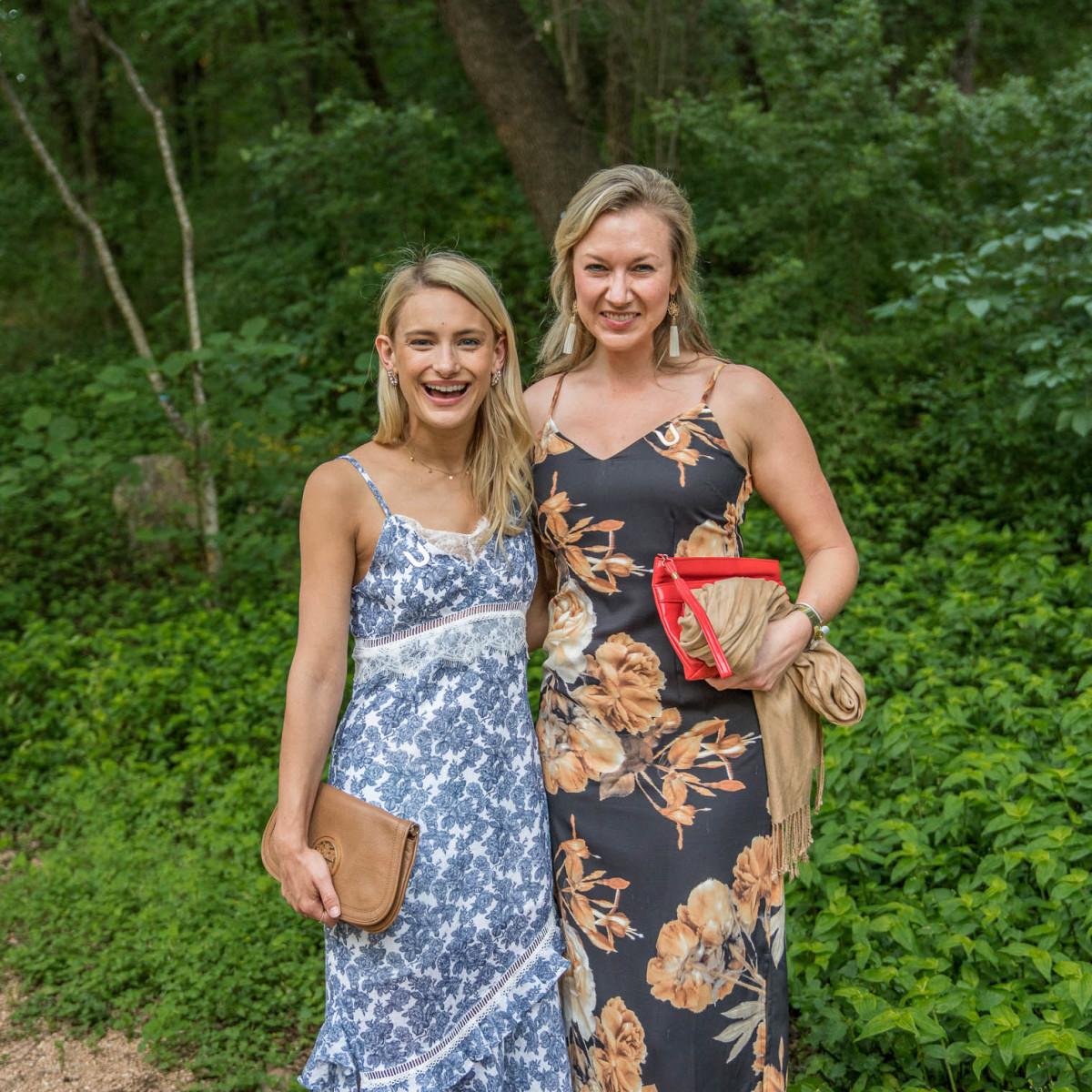 Umlauf Garden Party 2019 Rachel Holtin Ashley Jennings