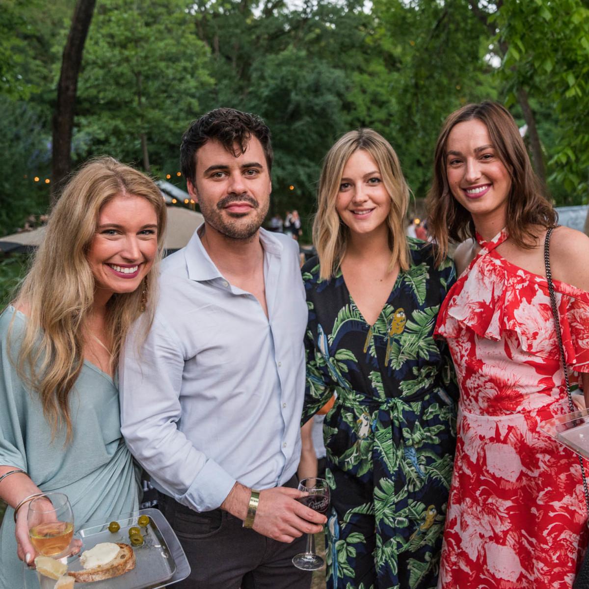 Umlauf Garden Party 2019 Ally Smith Carter Sackman Laura Arnold Hayley Cole