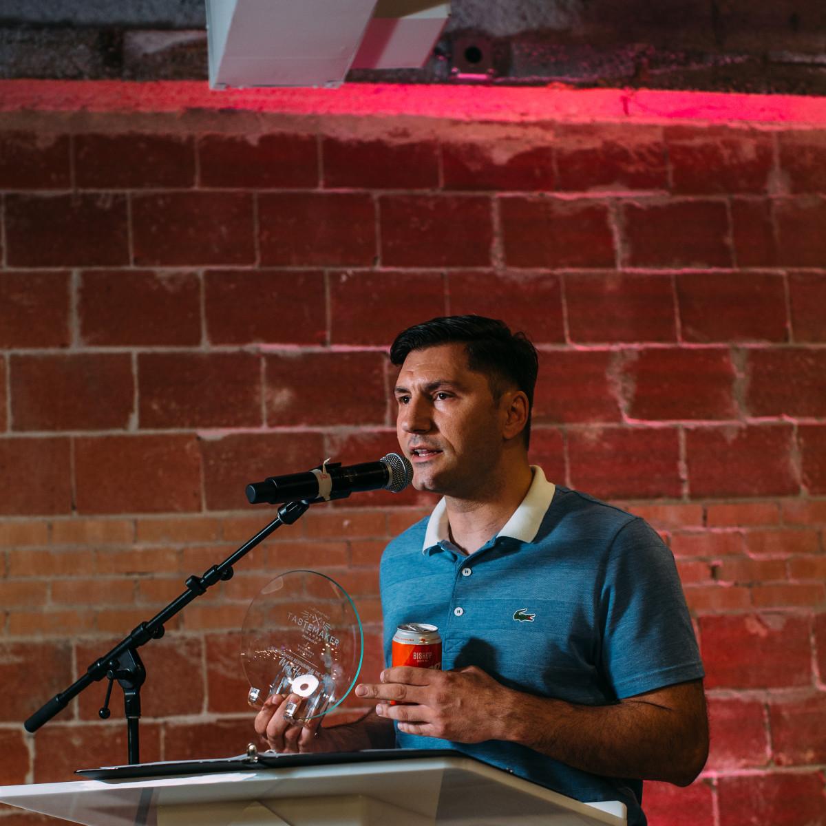 Peja Krstic, mot hai ba, Tastemaker Awards Dallas 2019