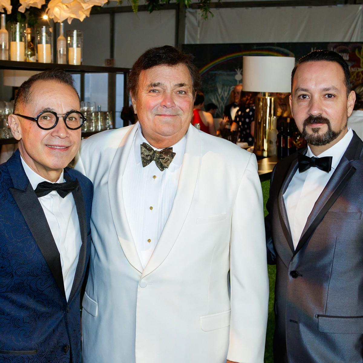 Agustín Arteaga (DMA Director), John Dayton, Carlos Gonzalez-Jaime